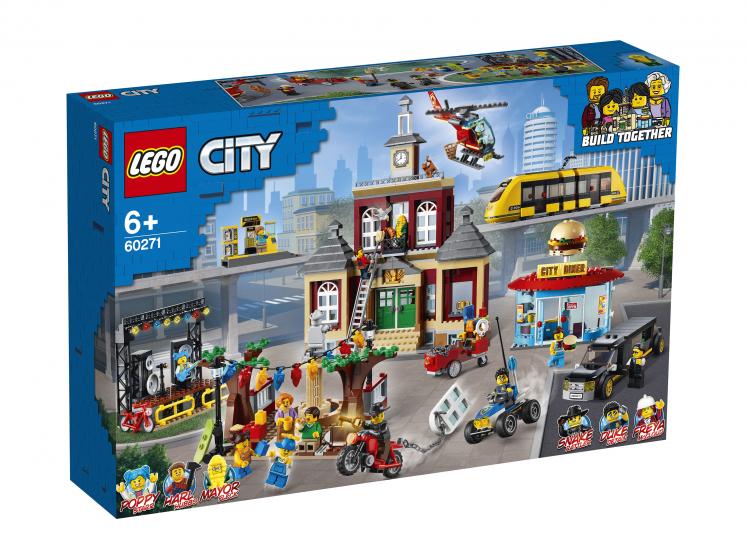 Конструктор LEGO City 60271 Городская площадь